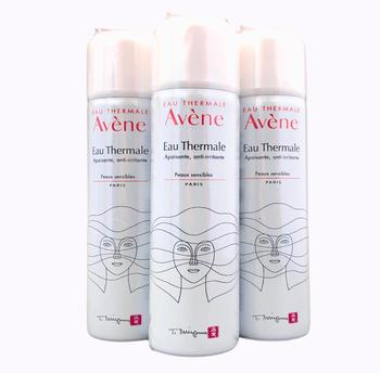 Avene Eau Thermale 50ml. Thermal water 50ml. Triplo. Three containers. Special Price