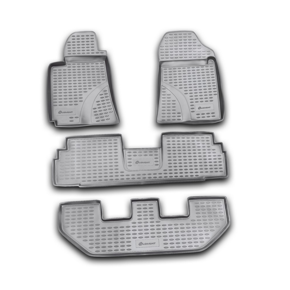 Floor Mats For TOYOTA Corolla Verso 03/2004-10/2009, 4 PCs NLC.48.13.210k