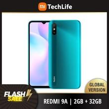 Versão global xiaomi redmi 9a 32gb rom 2gb ram (novo/selado) redmi9a, redmi9a 32, smartphone, celular, telefone