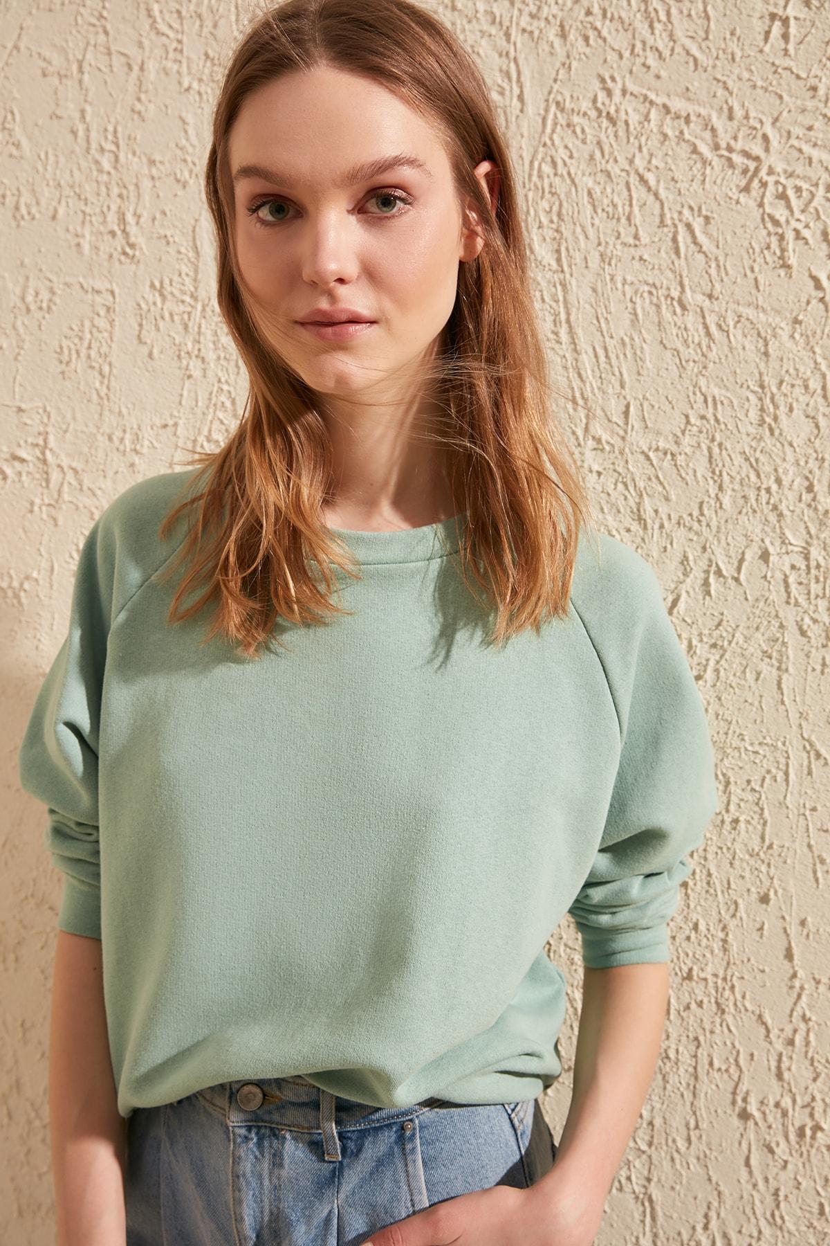 Trendyol Basic Knitted Sweatshirt TWOAW20SW0055