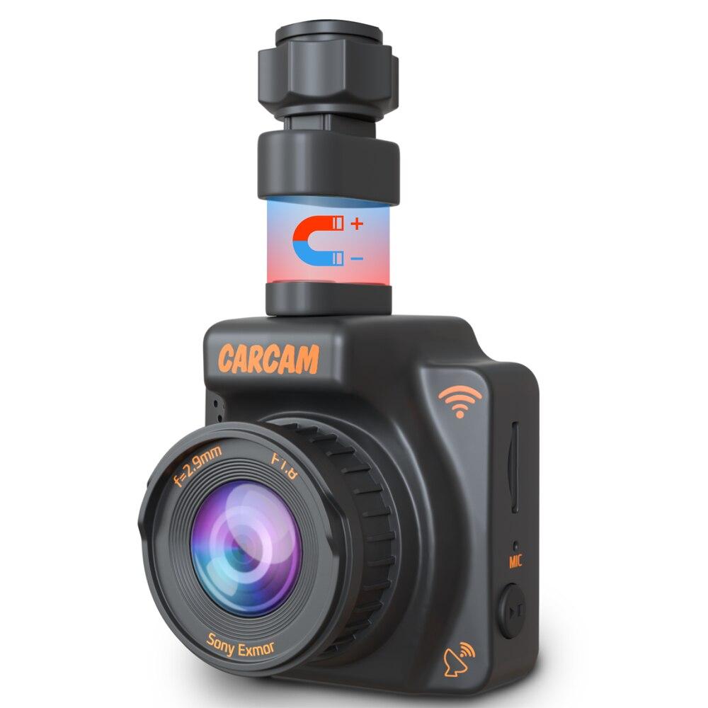 DVR de voiture Full HD compacte CARCAM R2 avec WiFi et GPS