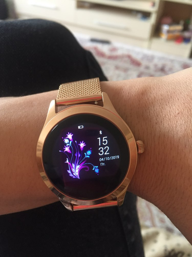 Lady/Women Sport Smart Watch Fitness Bracelet IP68 Waterproof Heart Rate Monitoring Bluetooth For Android IOS Smartwatch PK B57-in Smart Watches from Consumer Electronics on AliExpress