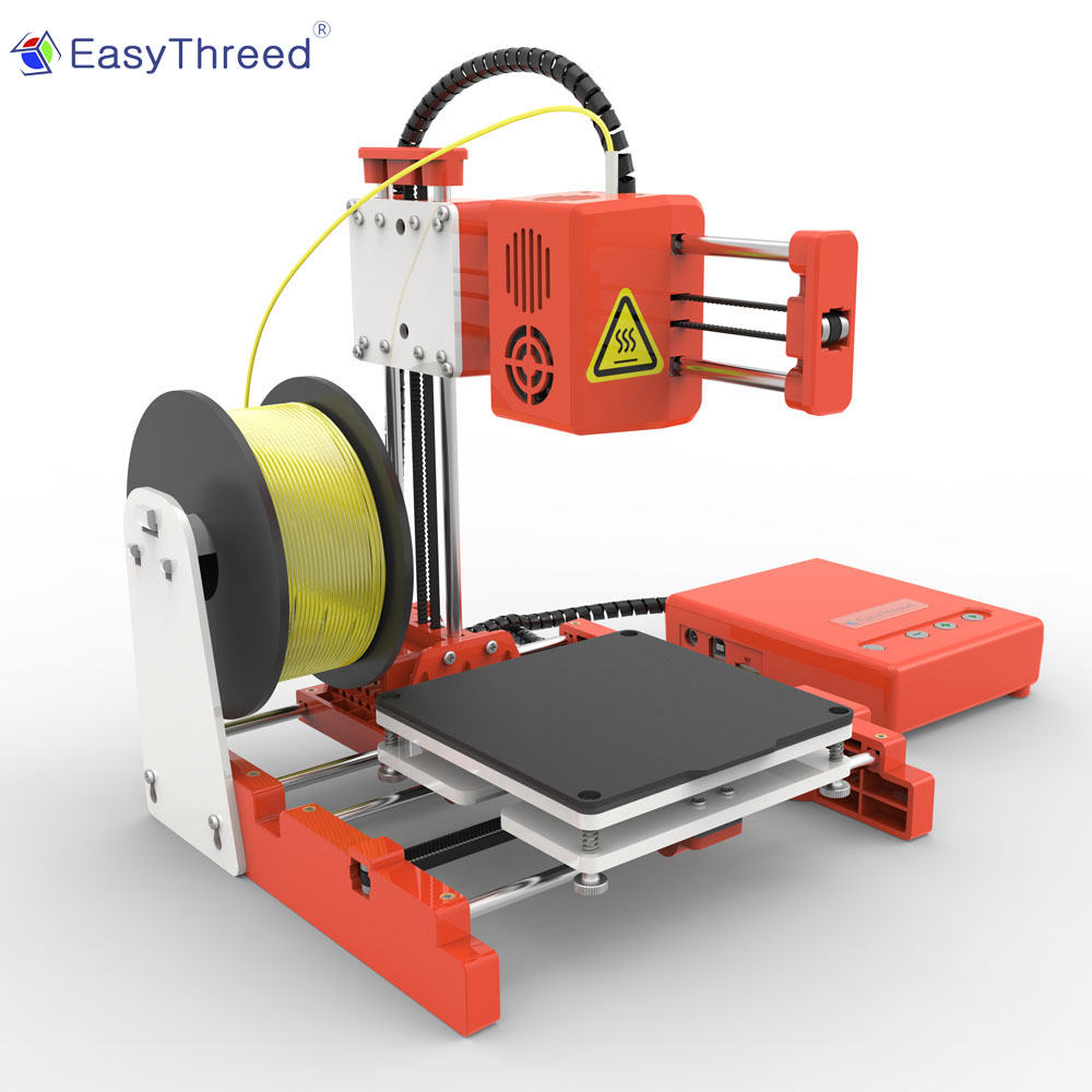 Easythree ed petite Mini Imprimante 3d pas cher PLA résine FDM Mini Impressora 3d brésil russe entrepôt impresora 3d Imprimante X1 - 3