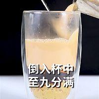 爆香栗子奶茶的做法,小兔奔跑冬季热饮配方教程的做法图解7