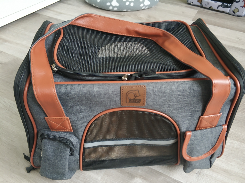 DogMEGA Luxurious Dog Travel Carrier | Airline Dog Carrier | Puppy Carrier photo review