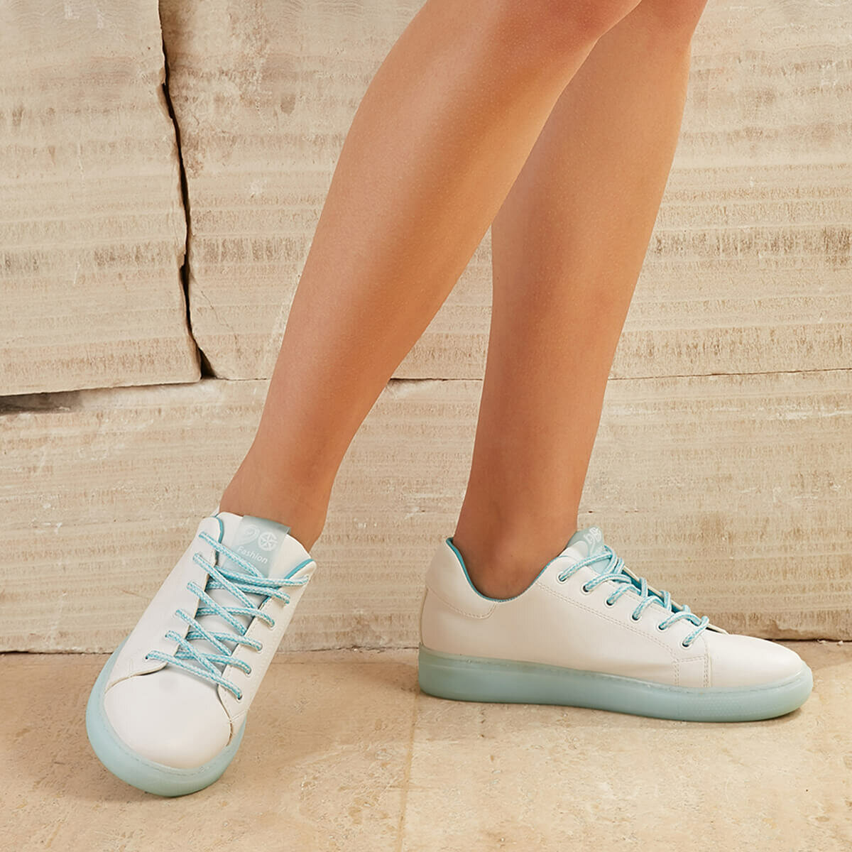 FLO INTER67Z SKIN Blue Women 'S Sneaker Shoes BUTIGO
