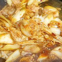 #福气年夜菜#红红火火白菜粉丝煲的做法图解10