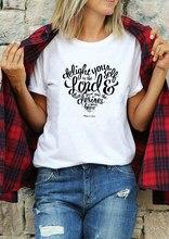 100% algodão casual grunge unissex moda citações camiseta topo tshirt bíblia verso deliciar-se no senhor jesus camiseta engraçado