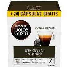 Кофе в капсулах nescafare dolcee Gusto Espresso intenso(18 Uds