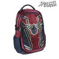 School Bag Spiderman Maroon