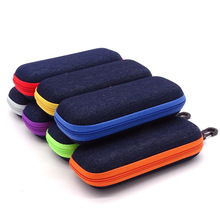 Cover Sunglasses Eyewear Cases Zipper Women Portable for with Lanyard