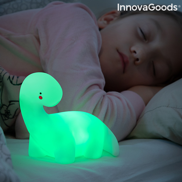 Dinosaur Multicolour LED Lamp Lightosaurus InnovaGoods