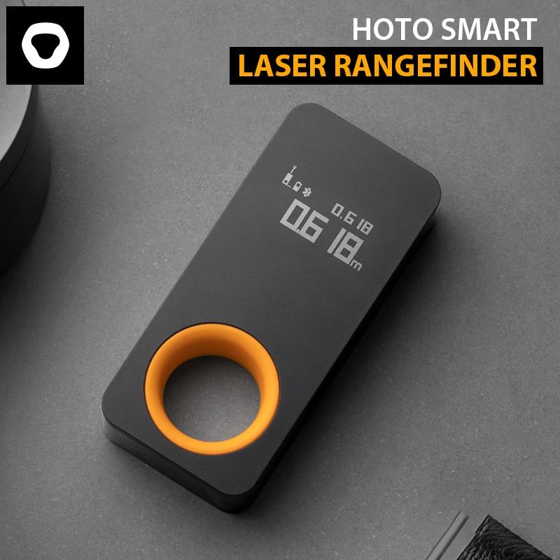 Новинка 2021, умный лазерный прибор HOTO для измерения, интеллектуальное точное измерение, большой диапазон, Точное Приведение к миллиметрам, п...