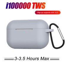 i100000 TWS Change Name Air 3rd Wireless Earphone In Ear Detection Bluetooth Headphone Sport