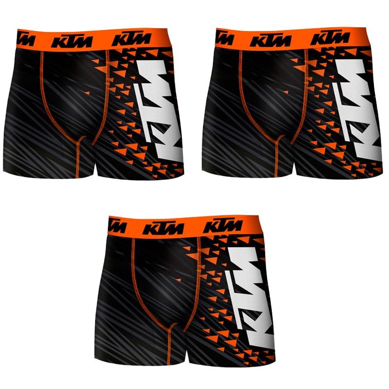 KTM BLACK Boxers Type Boxer Pack 3 Units In BLACK Color For Men