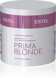 ESTEL Prima Blonde Комфорт маска для светлых волос 300 мл|Маски для волос|   | АлиЭкспресс