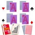 Coag marcado cartões de jogo para lentes de contato infravermelhas anti fraude no poker texas holdem em truque mágico formiga batota no bacará