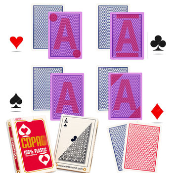 цена на Copag Marked Playing Cards for Infrared contact lenses anti cheat at poker Texas Hold'em magic trick ant cheating at baccarat