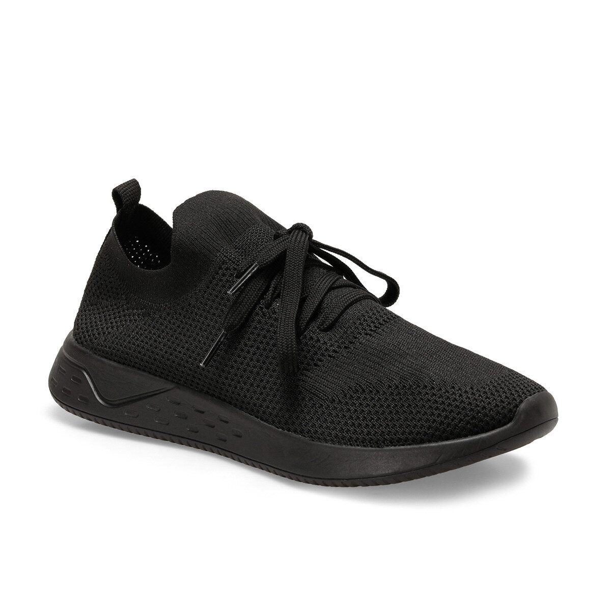 FLO Men's Sneakers Black Male Sports Shoes For Men Forester ONR-1 C