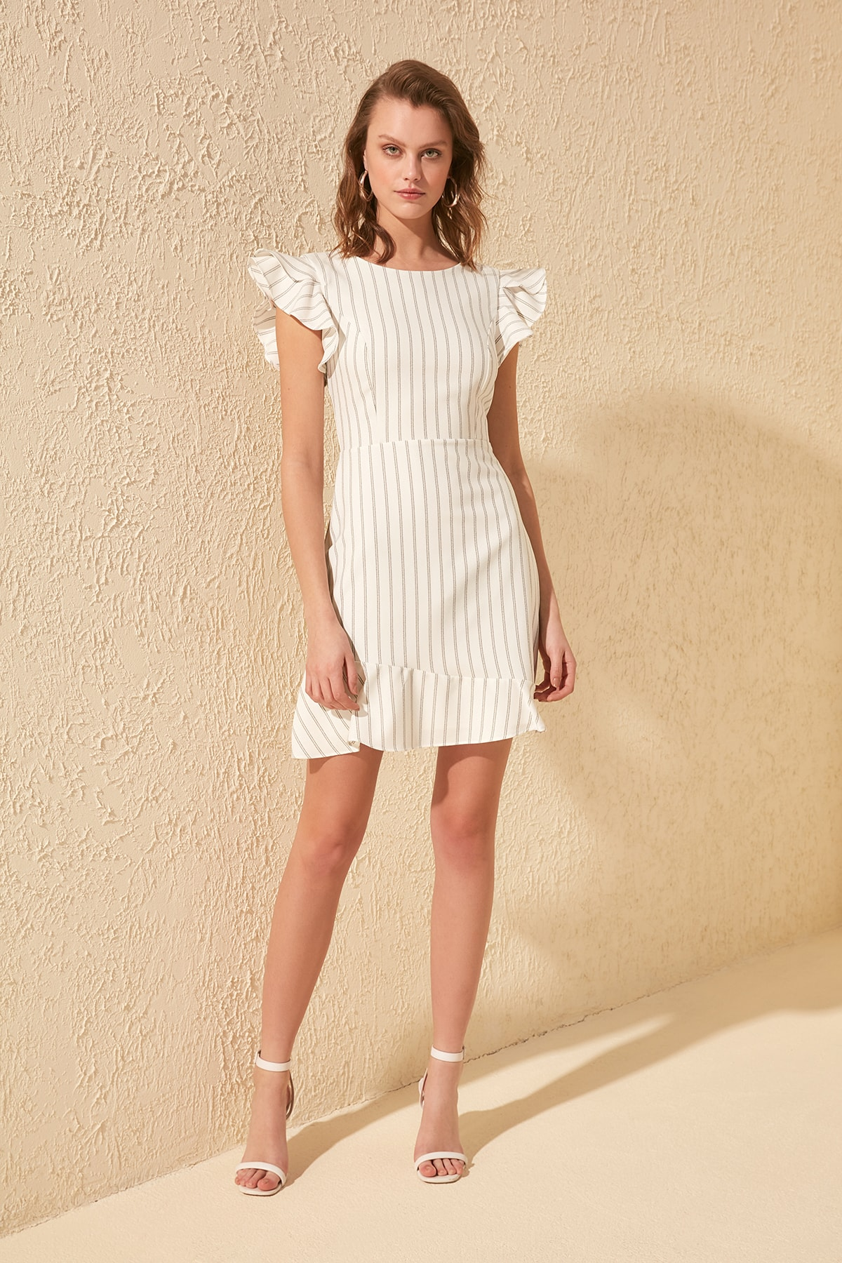 Trendyol Striped Dress TWOSS20EL1048