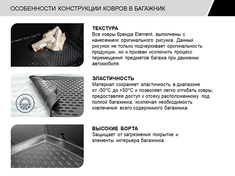 Trunk Mat For LEXUS IS 250 2013-2015, 2015,. NLC.29.30.B10