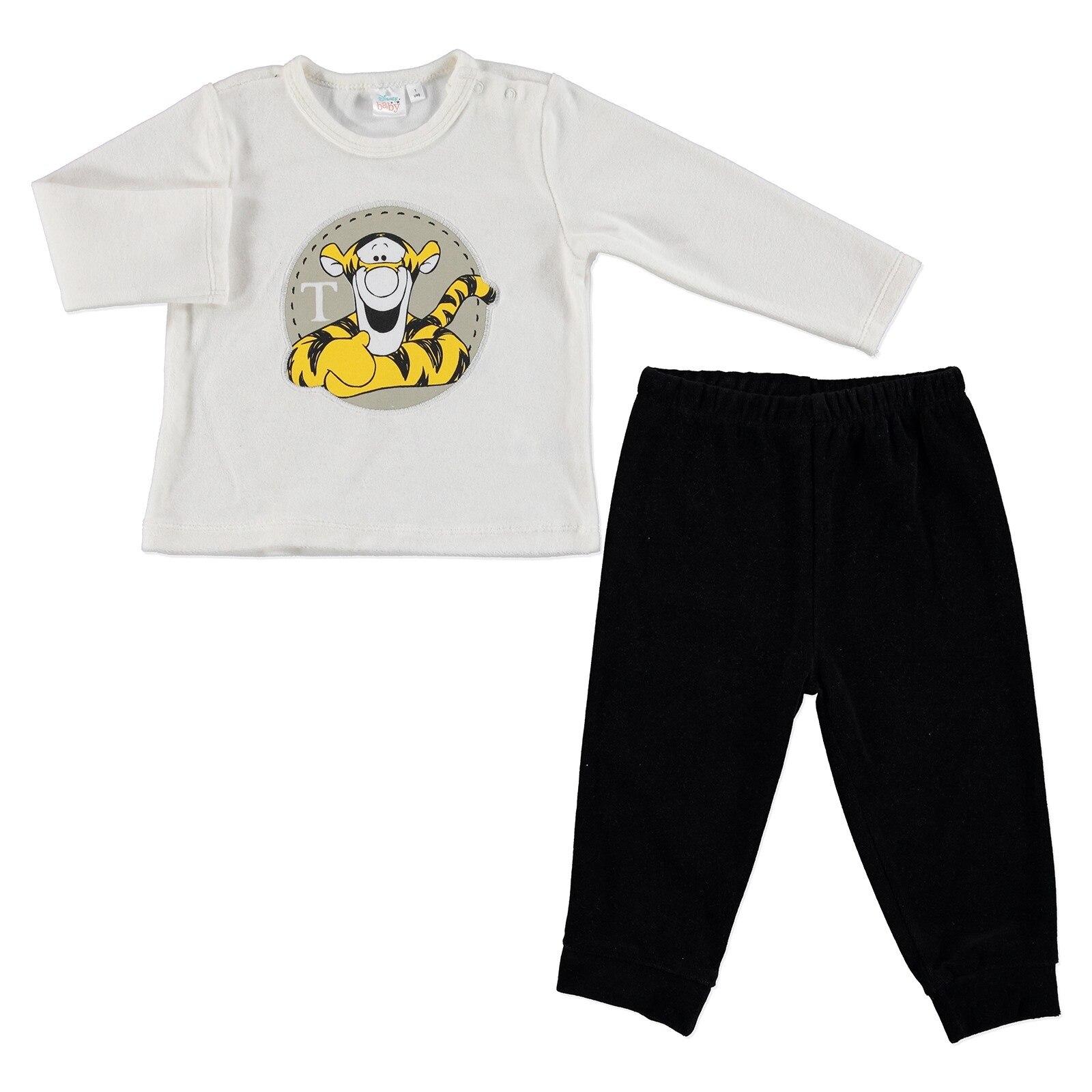 Ebebek Disney Winnie The Pooh Licensed Velvet Tracksuit Set