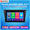 Автомобильная магнитола ELEMENT-5 10 дюймов 6G + 128G Android 10 4G5G WIFI RDS DSP для Honda Accord 2008-2013 GPS-навигация
