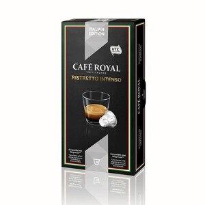 Ristretto intense Cafe Royal 10 compatible capsules Nespresso