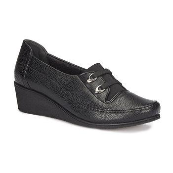 FLO 72 107552 Z czarne buty damskie Polaris 5 Point tanie i dobre opinie Polaris 5 Nokta Trzciny