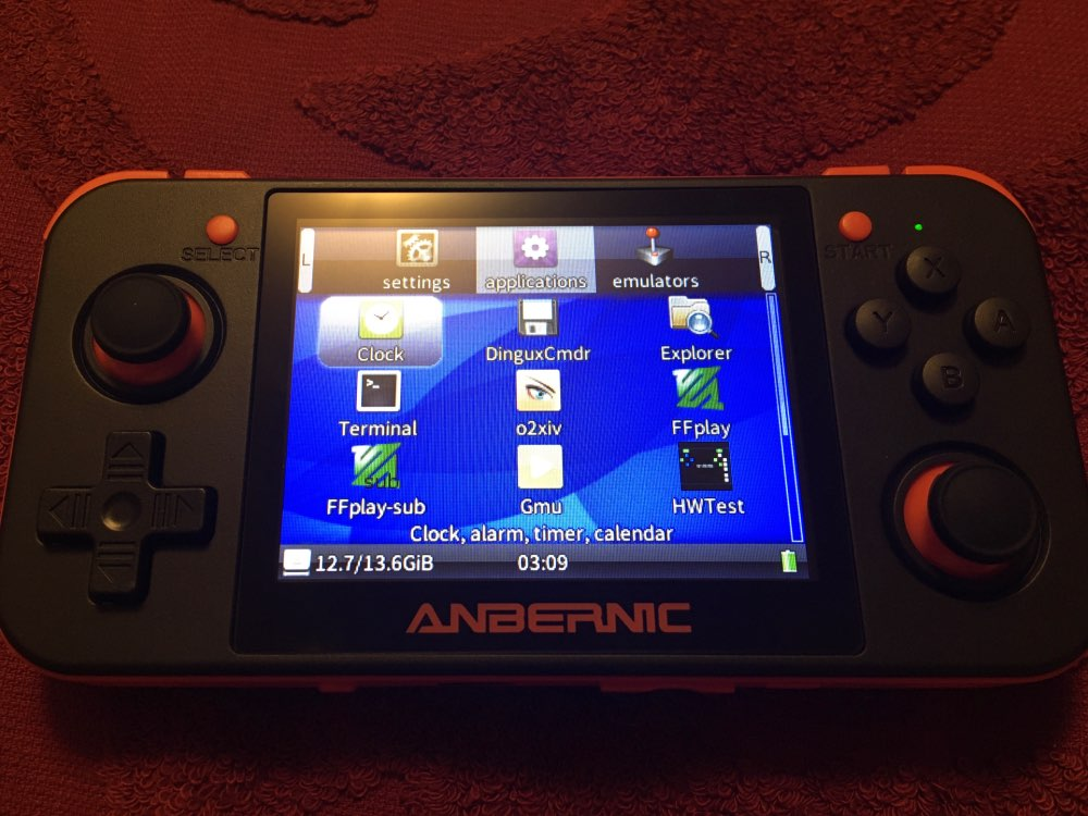 -- Anbernic Atualizar Console