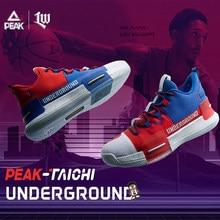PEAK Lou – chaussures de Basketball pour hommes, baskets durables, antidérapantes, coussin, semelle extérieure, pour l'entraînement en plein air, grande taille