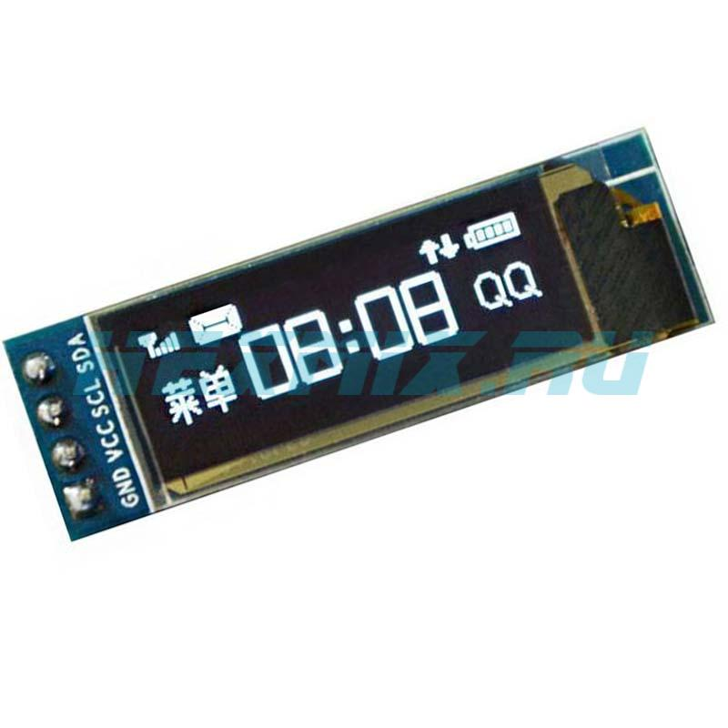 OLED I2C Display Screen Size 0.91 128x32