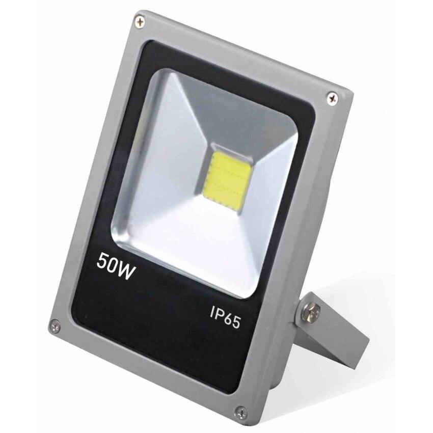 LED Projector 50W Ultraslim Outdoor Handheld 4000K Aluminum 7hSevenOn Outdoor