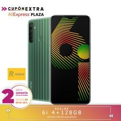 [Ufficiale Spagnolo versione di garanzia] Realme 6i 4 + 128-GB, elio G80, Helios processore G80, quad camera AI 48MP, Dual Sim