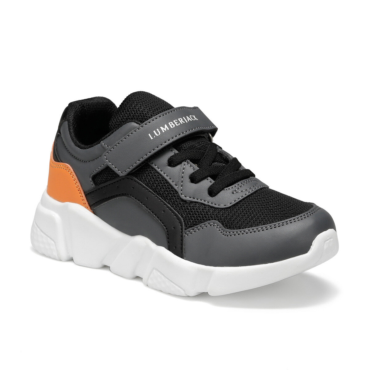 FLO CANE Black Male Child Hiking Shoes LUMBERJACK