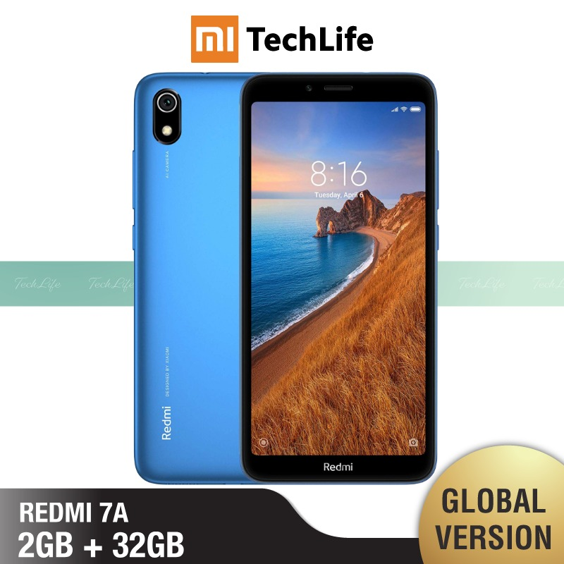 Global Version Redmi 7A 32GB ROM 2GB RAM (Brand New / Sealed) Redmi 7a, Redmi7a