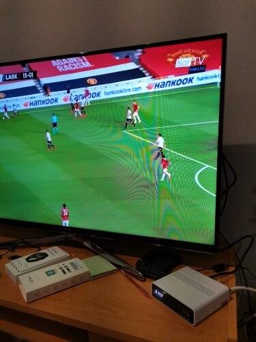 GTMEDIA GTS 4K Receptor DVB-S2 Bluetooth Receptor de satélite de youtube, Netflix Android TV Box 6,0 Dispositivo de TV inteligen