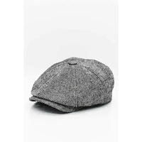 TOMMY SHELBY MEN PEAKY BLİNDERS NEWSBOY HAT AUTUMN VİNTAGE BALIKSIRTI SEKİZGEN CAP CASUAL STRIP BERET GATSBY FLAT HAT