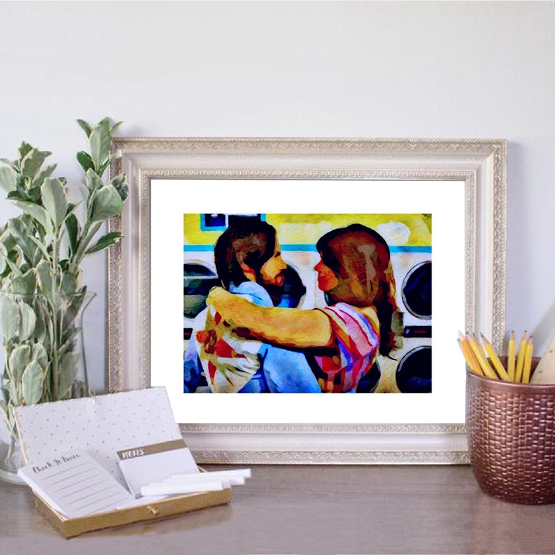JACK AND REBECCA Inspired by This Is Us Canvas Poster Home Decor