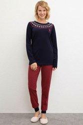 U.S. POLO ASSN. Темно-синий пижамный комплект