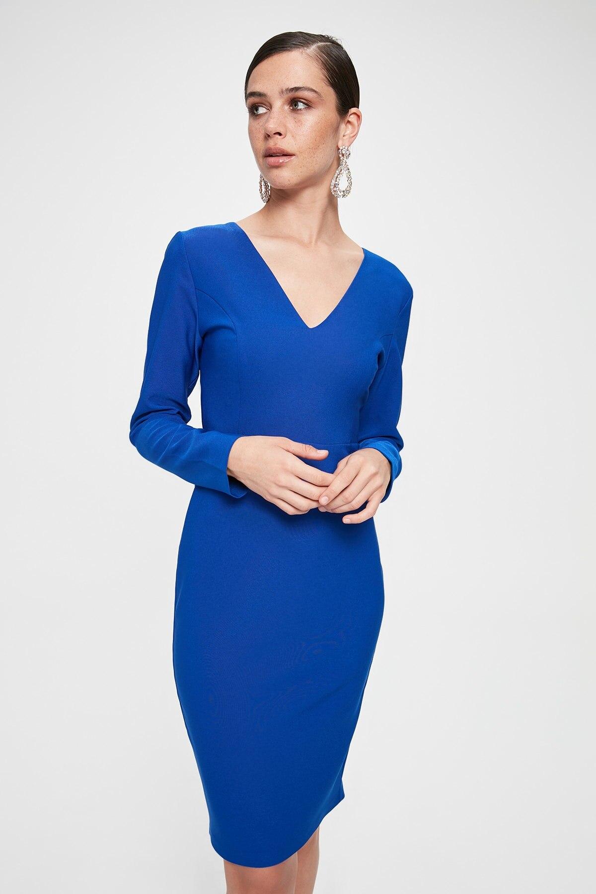 Trendyol Lacing Detail Dress TPRAW20EL1958()
