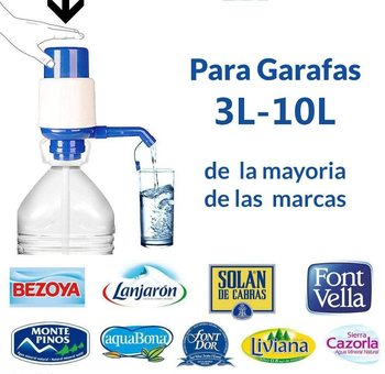 Dispensador de agua potable dispensador Agua para garrafas  Compatible con Botellas (Pet) de 3, 5, 6, 8,10 litros para Botellas недорого