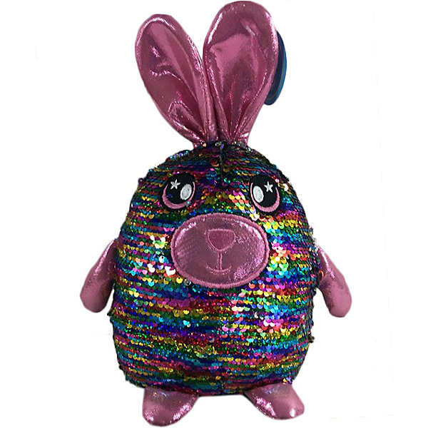Soft Toy ABtoys Hare With Sequins, 20 Cm