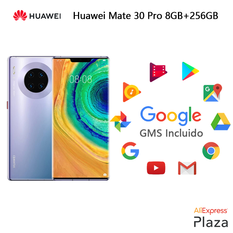 <font><b>Huawei</b></font> Mate 30 Pro Smartphone(RAM 8GB + ROM 256GB, phone mobile, free, new, google included, NFC, Android) [European version]