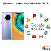 Huawei Mate 30 Pro Smartphone(RAM 8GB+ROM 256GB,google incluido,teléfono móvil,libre,nuevo,NFC,android)[Versión Europea]