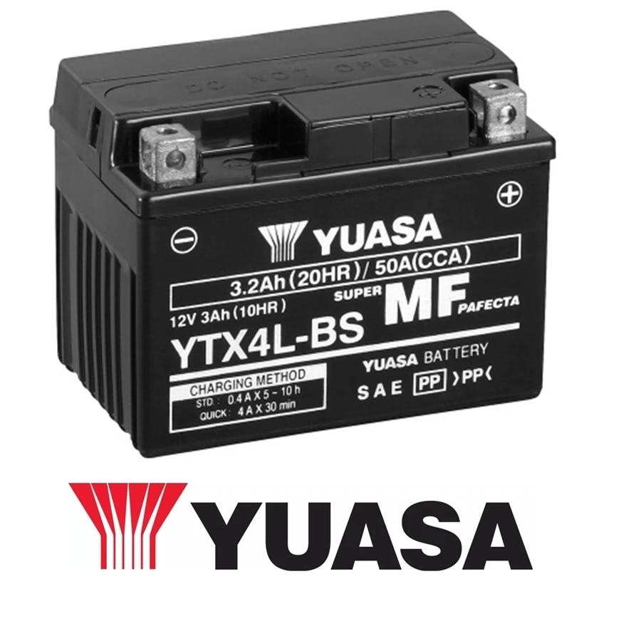 1989 Nitro YT4L-BS Batterie Kawasaki KMX125 FR MX125A MX125B Bj
