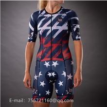 wattieink 2019 pro team custom outdoor triathlon woman jumpsuit ciclismo sport cycling uniform body suit GEL Non-slip webbing