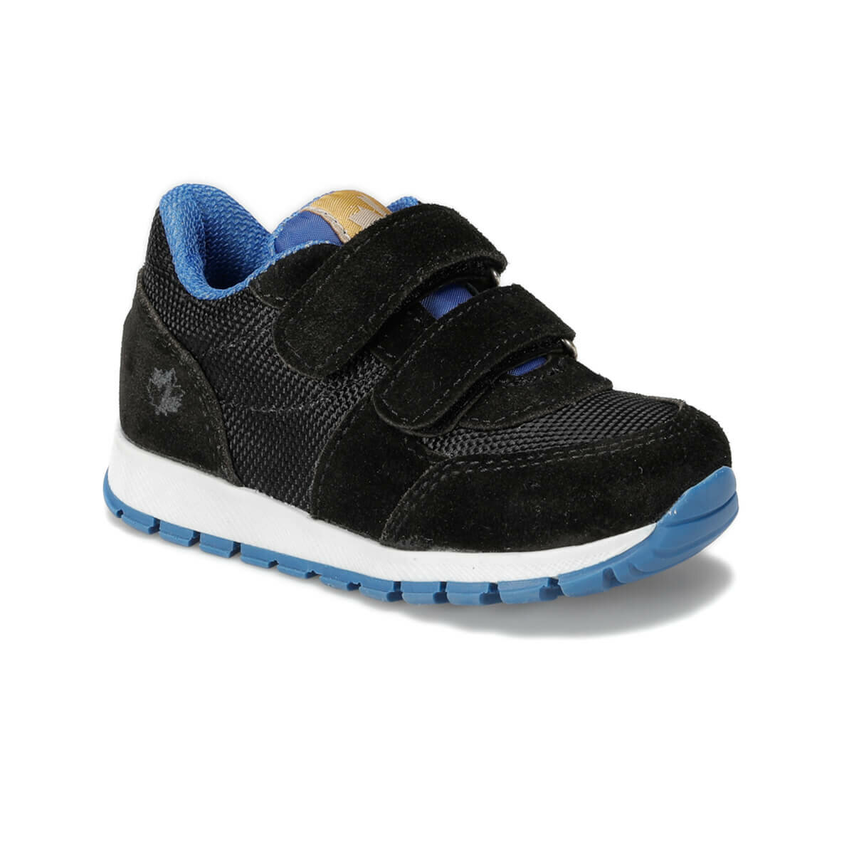 FLO TEXT 9PR Black Male Child Sneaker Shoes LUMBERJACK
