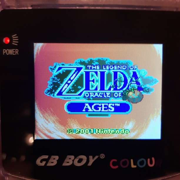 For Nintendo GBC Video Game Cartridge Console Card The Legend of Zeld Oracle Of Ages English Language Version photo review