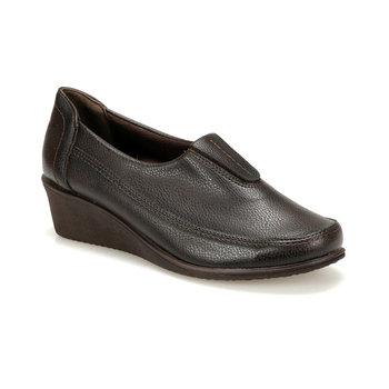 FLO 72 109102 Z brązowe buty damskie Polaris 5 Point tanie i dobre opinie Polaris 5 Nokta Trzciny